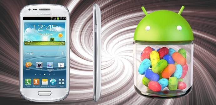 El Samsung galaxy S3 Mini incluye Android 4.1.2 en Asia