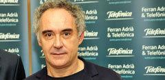 Presentación de Adriá en casa con Ferran Adriá