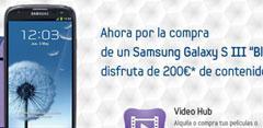 Promoción de Video Hub con el Samsung Galaxy S3 64 GB