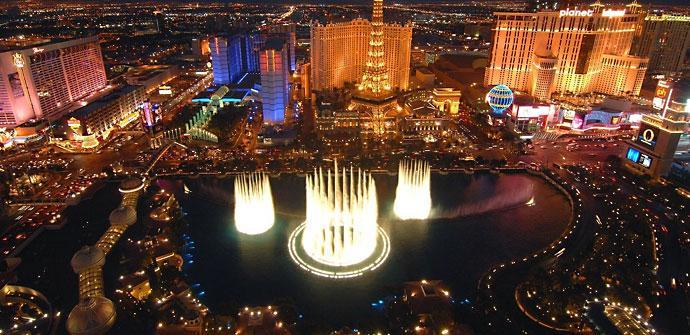 Las Vegas, ciudad en la que se celebra la feria CES