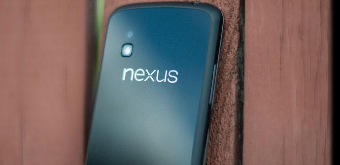 Carcasa trasera del Nexus 4