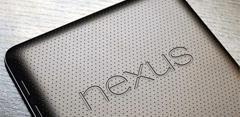 Imagen de la parte trasera del Nexus 7.