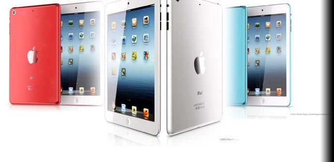 Imagen conceptual del iPad mini 2.
