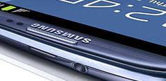 Frontal del Samsung Galaxy S3