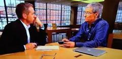 Tim Cook entrevistado en la NBC