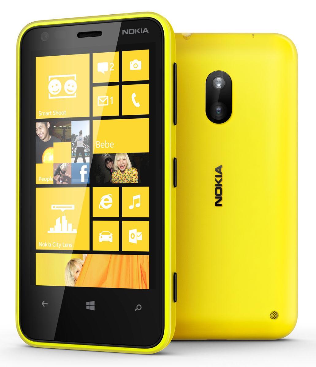 Nokia Lumia 620 amarillo
