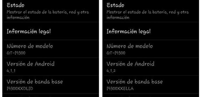Actualización firmware de Samsung en Galaxy S3