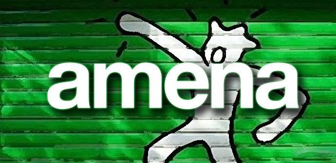 Logotipo de Amena