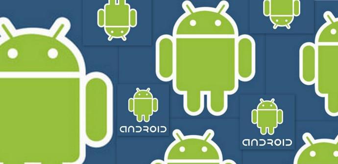 Varios logos de Android