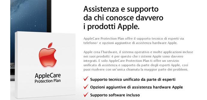 AppleCare en Italia