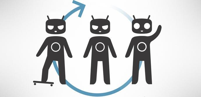 CyanogenMod 10.1 logotipo