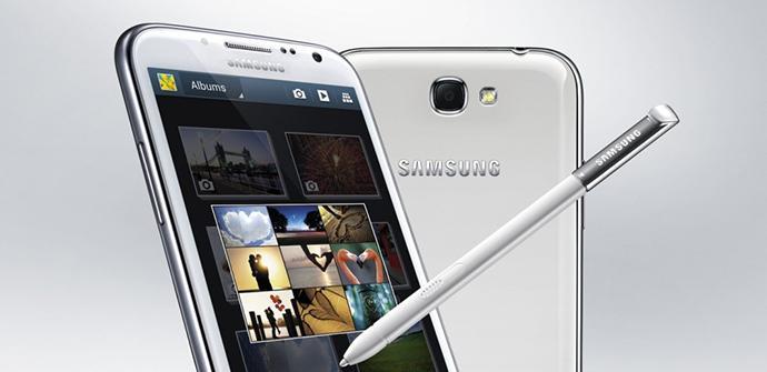 Samsung Galaxy Note 2 y su actualización