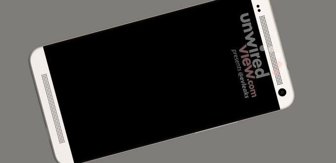 HTC M7 en color blanco