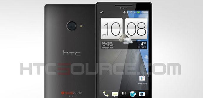 HTC M7 en color negro