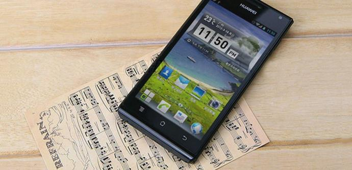 Nuevo teléfono Huawei Ascend P2