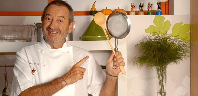 Cocinero Karlos Arguiñano