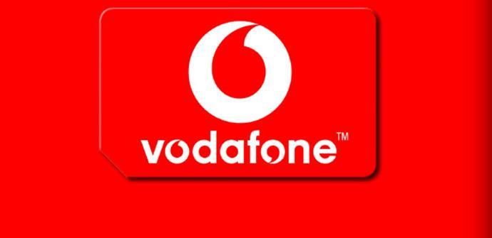 Logotipo de la operadora Vodafone