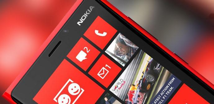 Nokia Lumia rojo