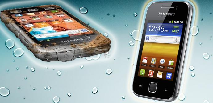 Teléfonos Samsung X Cover 2 y Galaxy Youm