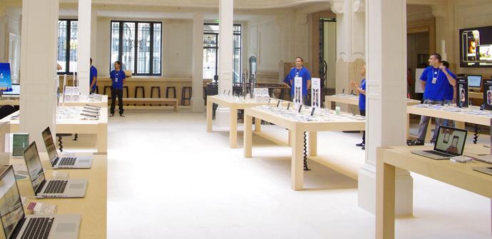 Tienda de Apple en París robada en Nochevieja