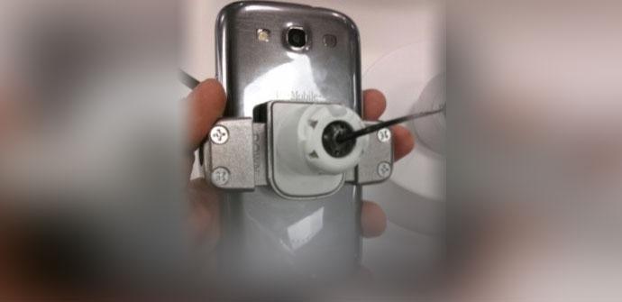 Samsung Galaxy S3 en color gris titanio