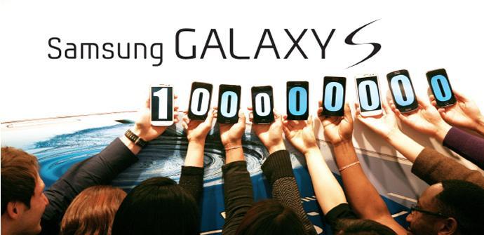 Samsung Galaxy S, 100 millones de unidades vendidas
