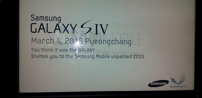 Galaxy S4 evento de prensa