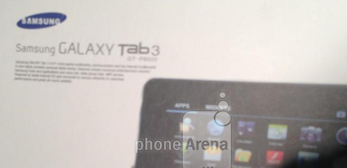 Se filtra una imagen de una Samsung Galaxy Tab 3