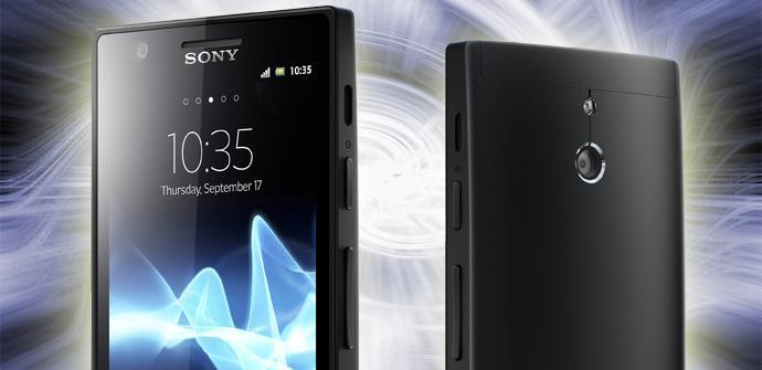 Teléfono Sony Xperia P