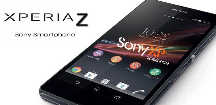 Nueva foto del teléfono Sony Xperia Z