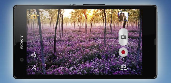 Uso de la cámara en Sony Xperia Z