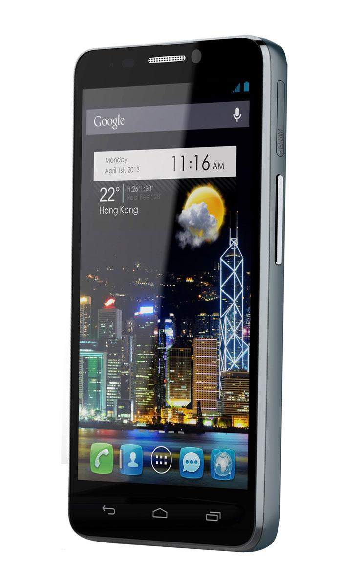 Alcatel One Touch Idol vista frontal