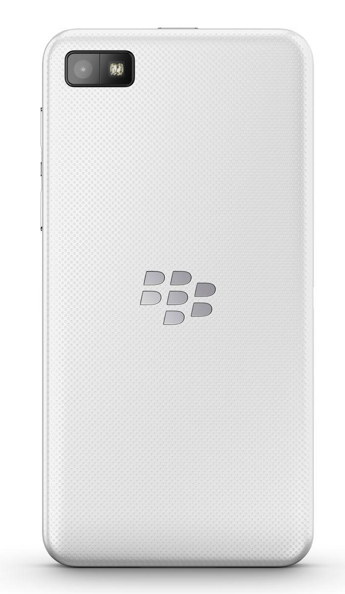 BlackBerry Z10 blanco vista trasera
