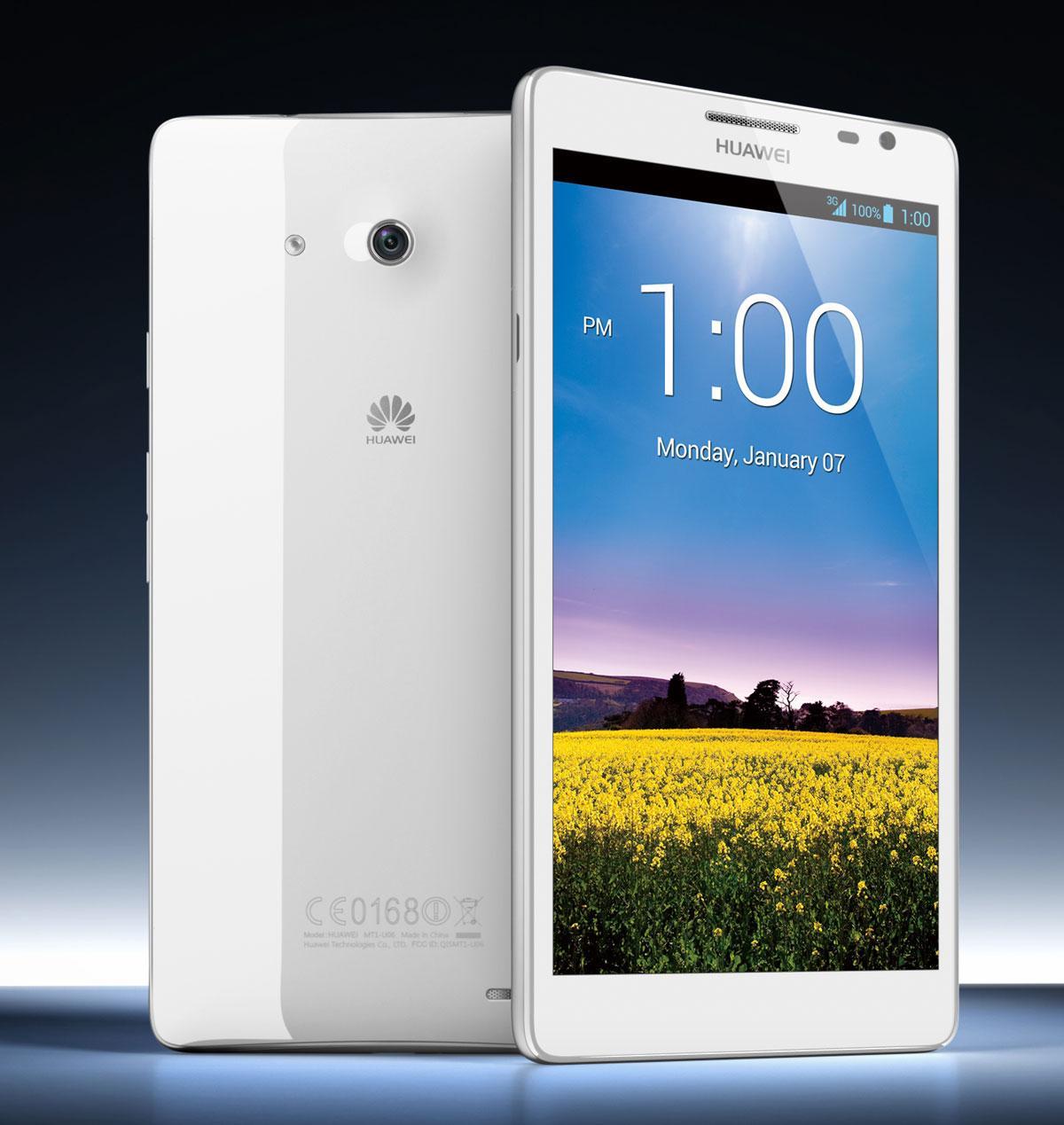 Huawei Ascend Mate en color blanco