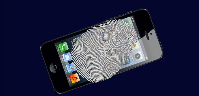 iphone 5 huella dactilar