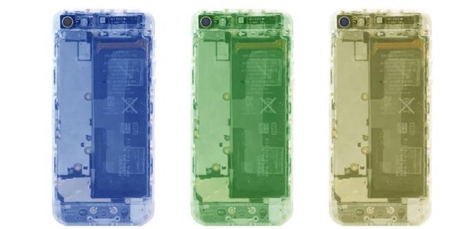 ipone plastico transparente