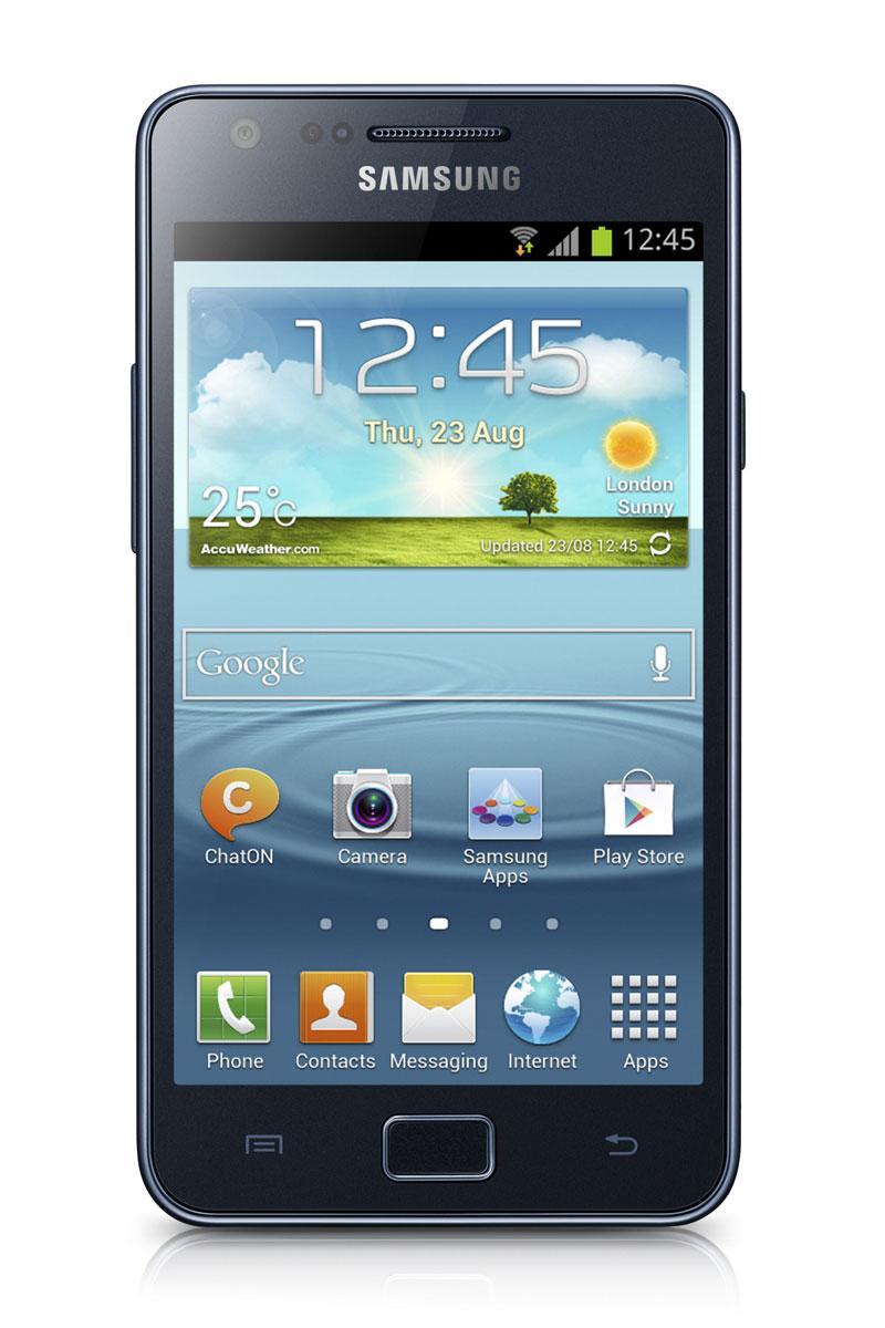 Samsung Galaxy S2 Plus de color negro