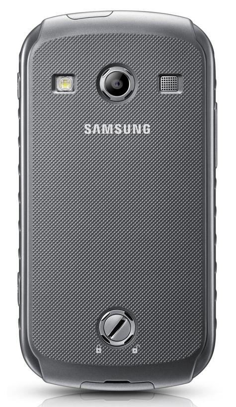 Samsung Galaxy Xcover 2 vista trasera
