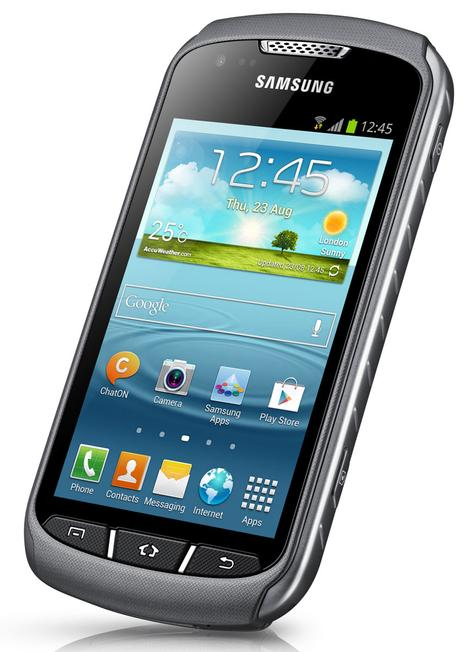 Samsung Galaxy Xcover 2 vista frontal