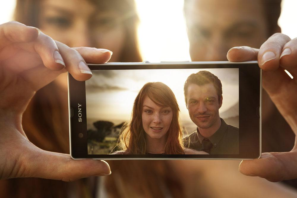 Sony Xperia ZL cámara