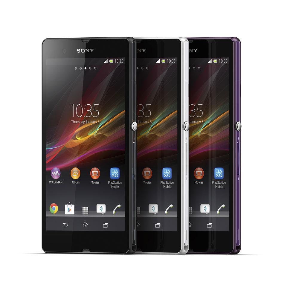 Opciones de colores del Sony Xperia ZL
