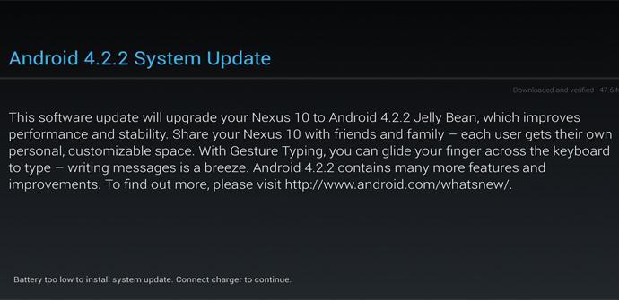 Actualización a Android 4.2.2