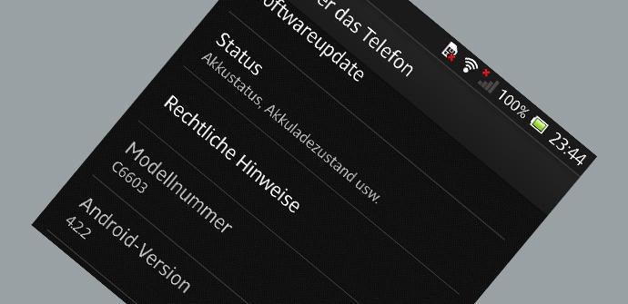 Android 4.2.2 Jelly Bean en el Sony Xperia Z para marzo
