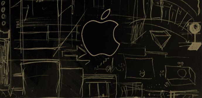 Logo de Apple y diseño