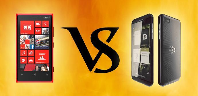 BlackBerry Z10 vs Nokia Lumia 920