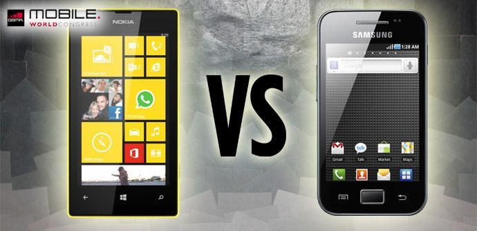 Comparativa Nokia Lumia 520 vs Samsung Galaxy Ace