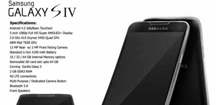 Propuesta de diseño para el Samsung Galaxy S4