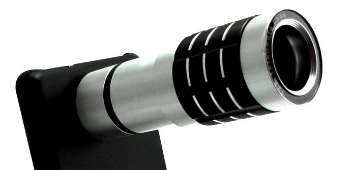 Teleobjetivo para la cámara del Samsung Galaxy S2