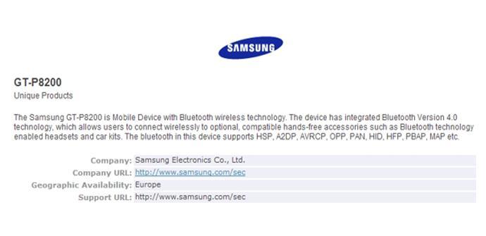 Samsung Galaxy Tab 3 Plus GT-8200
