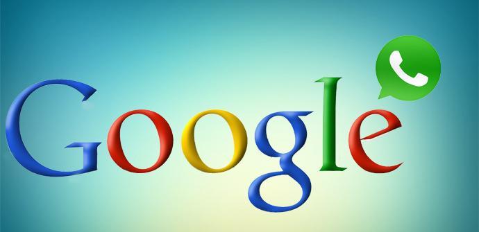 Logos Google y WhatsApp